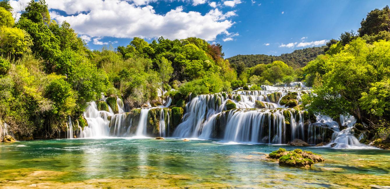 Kroatien-Tour: Nationalpark Krka